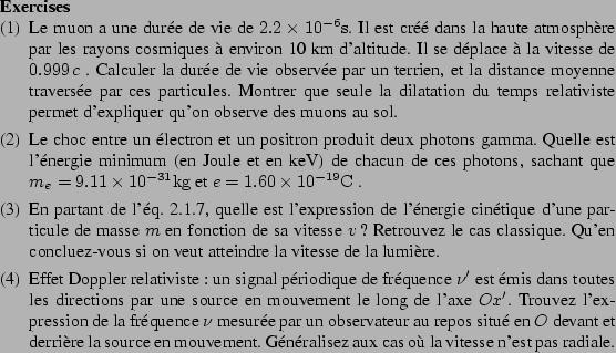 théorie relativité pour les nuls